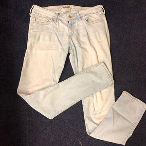 Hollister light wash denim jeans